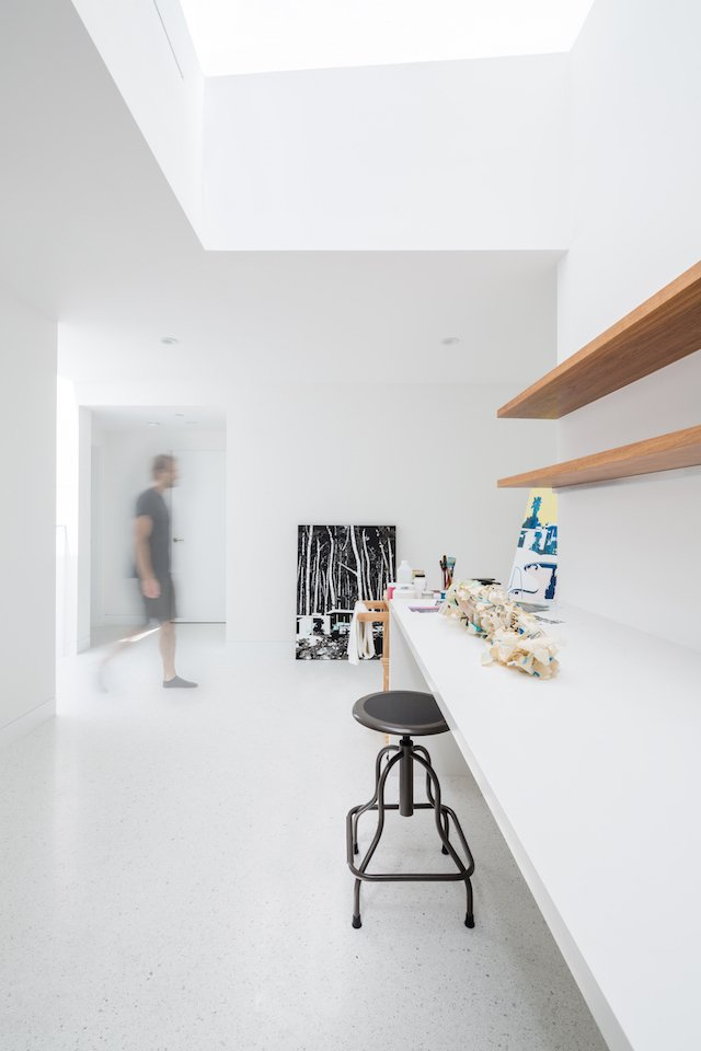 #danbrunn #zigzag #residence #beachfront #venice #california #art #studio #interior