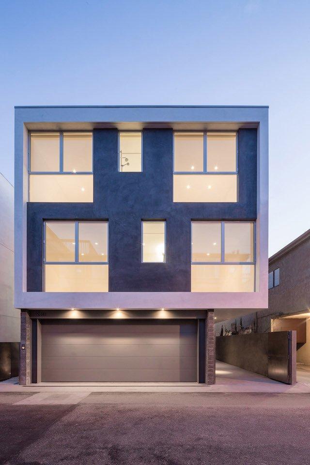 #danbrunn #zigzag #residence #beachfront #venice #california #glass #windows #exterior