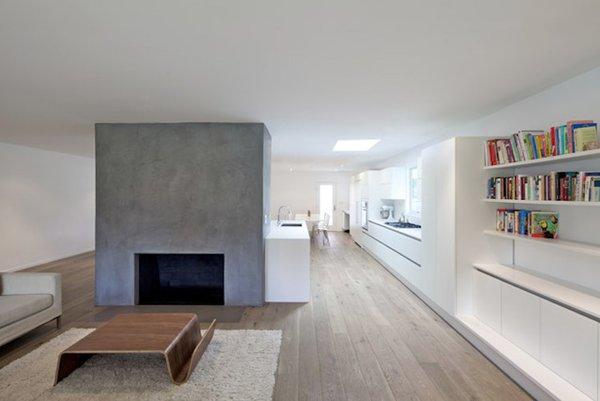 #danbrunn #hayvenhurst #residence #remodel #losangeles #california #windows #fireplace #livingroom #kitchen #woodfloors #interior  Hayvenhurst Remodel by DBArchitecture