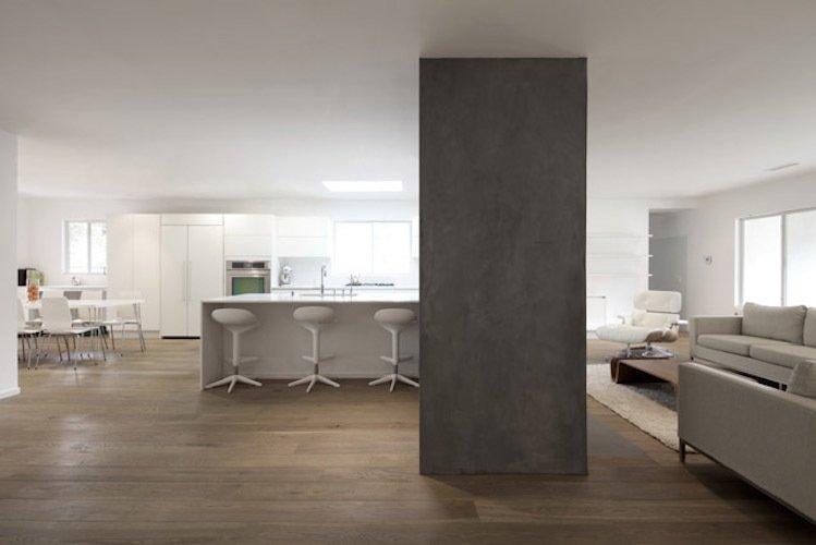 #danbrunn #hayvenhurst #residence #remodel #losangeles #california #kitchen #livingroom #woodfloors #interior  Hayvenhurst Remodel by DBArchitecture