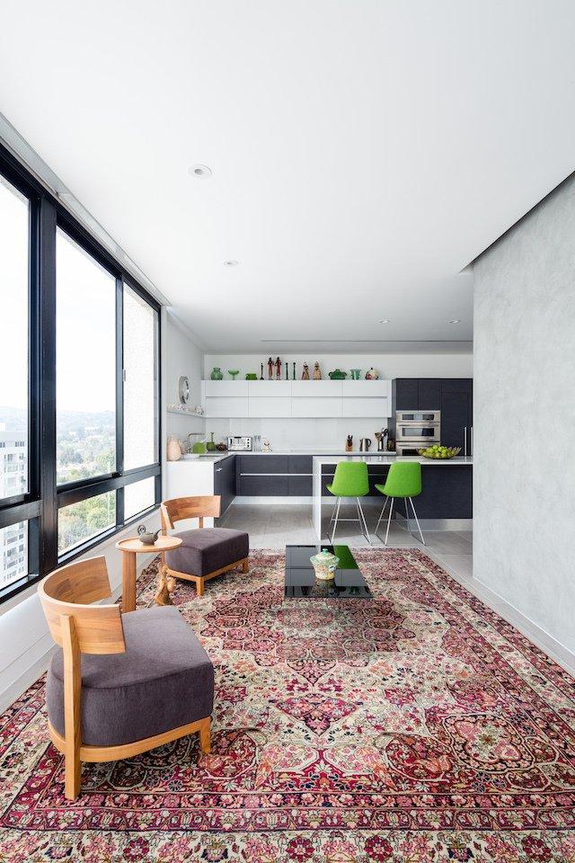 #danbrunn #thediplomat #apartment #wilshirecorridor #california #glass #windows #livingroom #interior  The Diplomat Apartment by DBArchitecture
