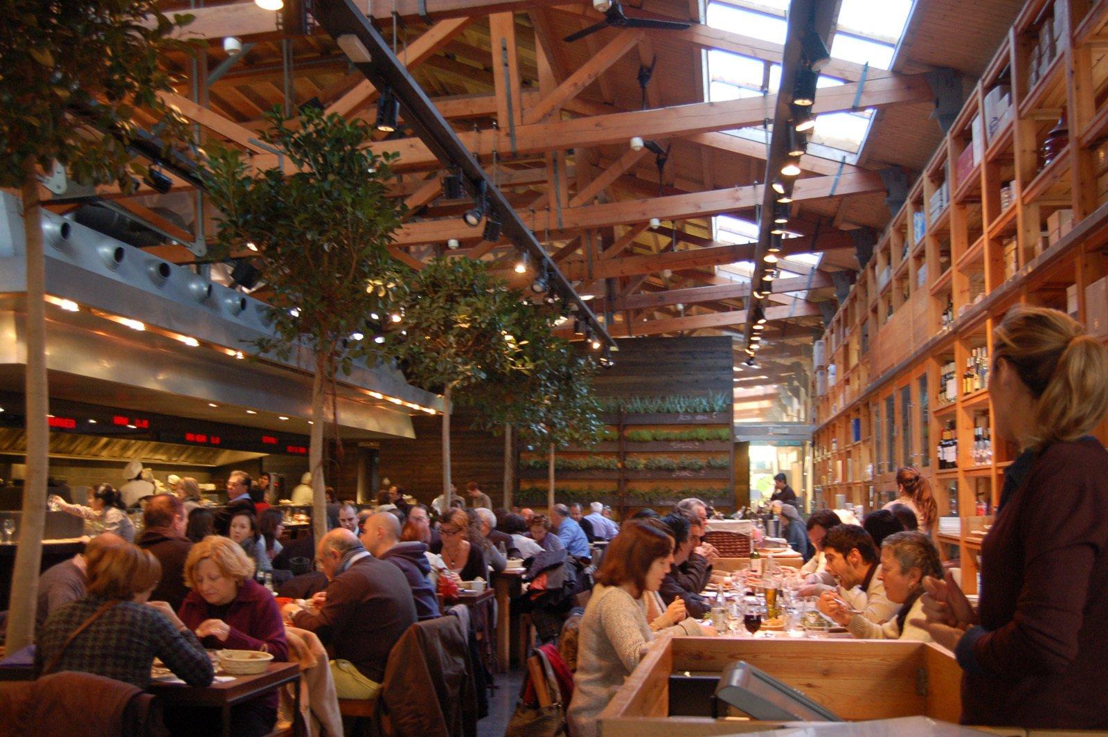 Mercat de Santa Caterina, Barcelona. Designed by architect Bernedetta Tagliabue.   Square Meal by Amanda Dameron
