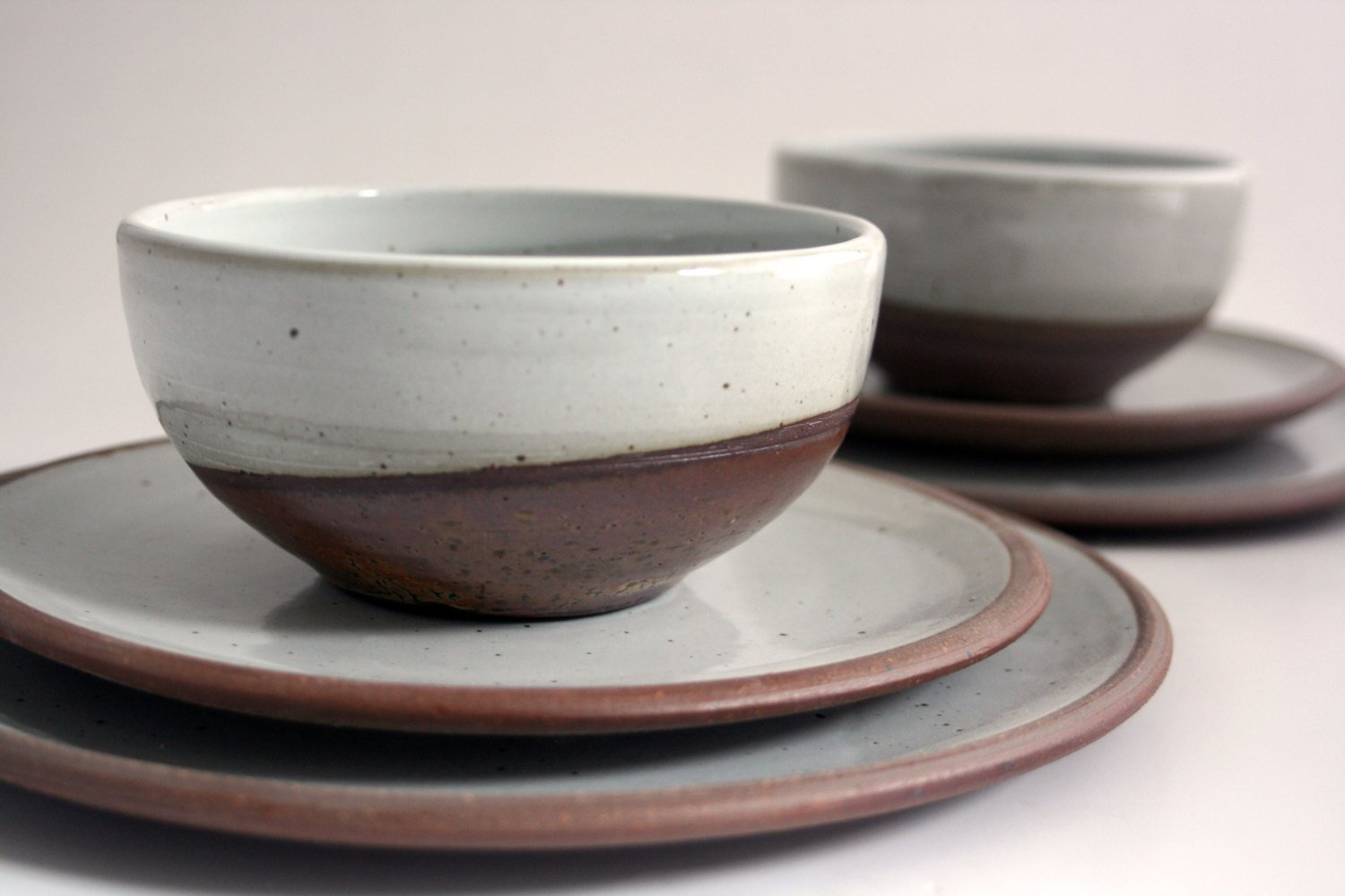 Tableware by Cincinnati-based ceramics artist Bethany Rose Kramer. I'm going to mix a few of her pieces with my everyday plates, which are Heath Ceramics Rim series.  Square Meal by Amanda Dameron