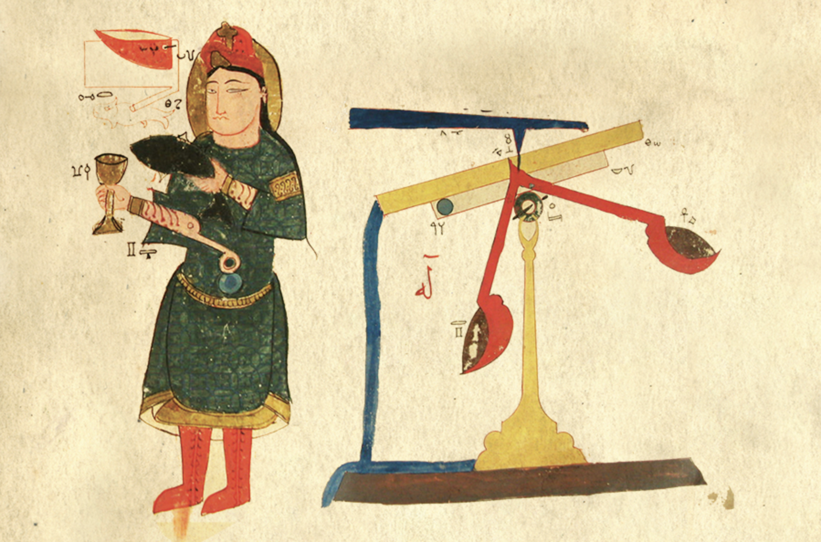 Image from The Book of Knowledge of Ingenious Mechanical Devices by 12th-century scholar Badīʿ az-Zaman Abū l-ʿIzz Ismāʿīl ibn ar-Razāz al-Jazarī.   Photo 3 of 4 in Products We Love: The Dyson 360 Eye