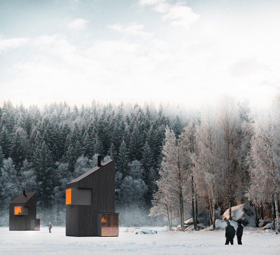 Cabin by DAVE MORIN