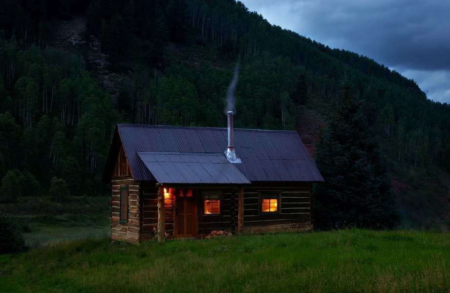 Cabin by DAVE MORIN
