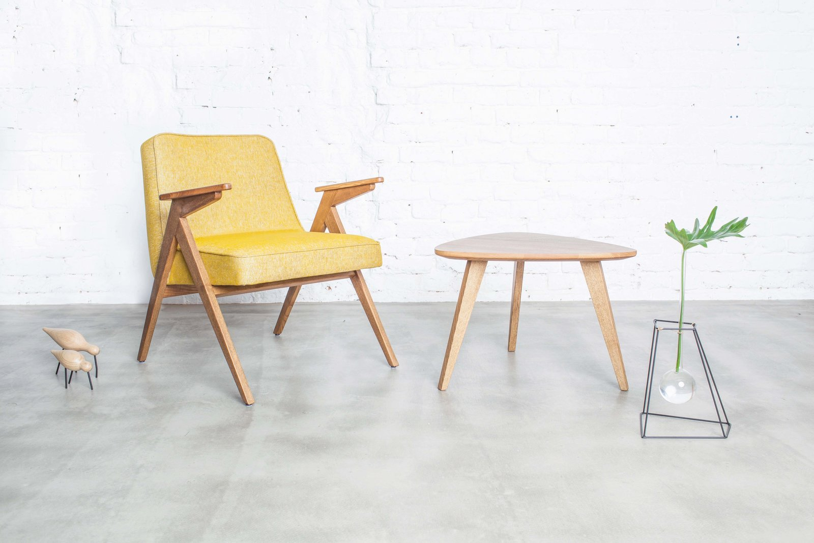 A variant of the Easy Chair, the Bunny Easy Chair is named for the friendly shape of its gently tapered armrests.  100+ Best Modern Seating Designs by Dwell from A Look At Józef Chierowski, the Polish Midcentury Design Icon You've Probably Never Heard Of