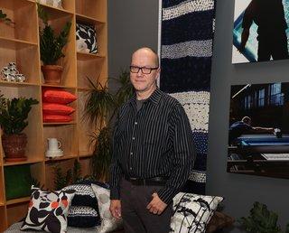 For Marimekko's  Artwork Studio Manager,  Print's Not Dead - Photo 6 of 6 - Petri Juslin, Marimekko's artwork studio manager since 1986.