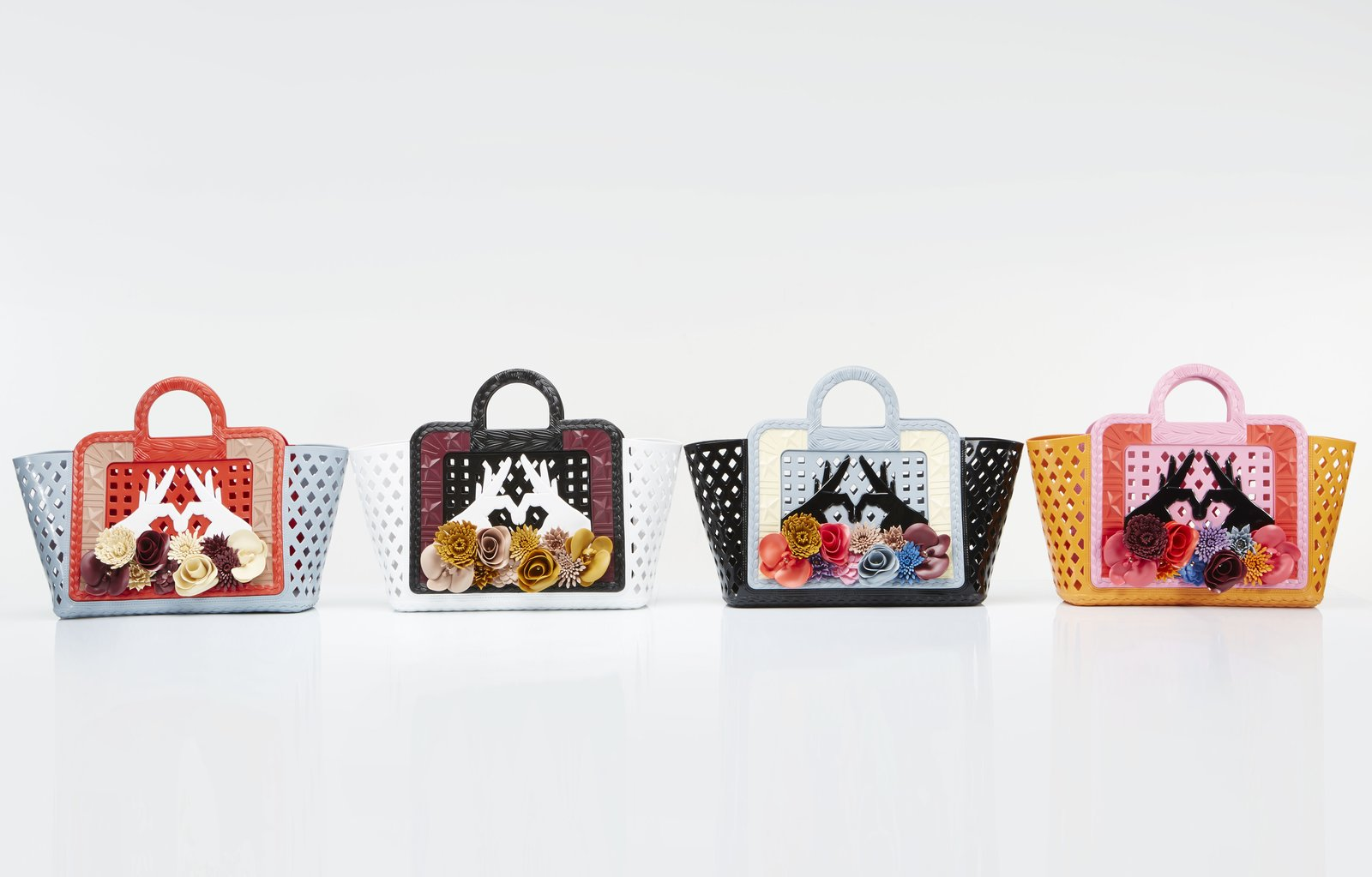 Continuing its ongoing collaborations with fashion designers, Kartell has just teamed with Paula Cademartori as part of a project with the Milanese department store La Rinascente. Called Parati, the capsule collection includes a series of colorful sandals and handbags (shown), made with injected plastic and inspired by Rio de Janeiro's Botanical Garden.