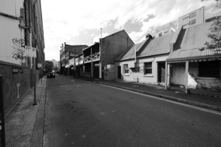 "Urban Rehab: Once Abandoned, a Sydney Street Rises Again - Photo 2 of 6 - Before: <span style=""line-height: 1.8;"">Now a vibrant laneway, Kensington Street had fallen into disrepair since its 19th-century heyday.</span>"