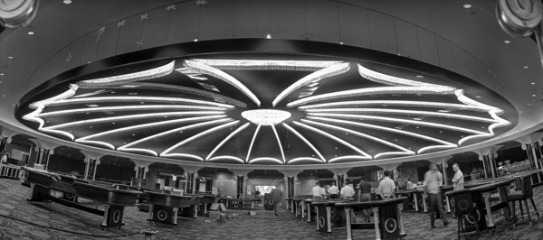 The main casino at Caesars Palace, 1966.
