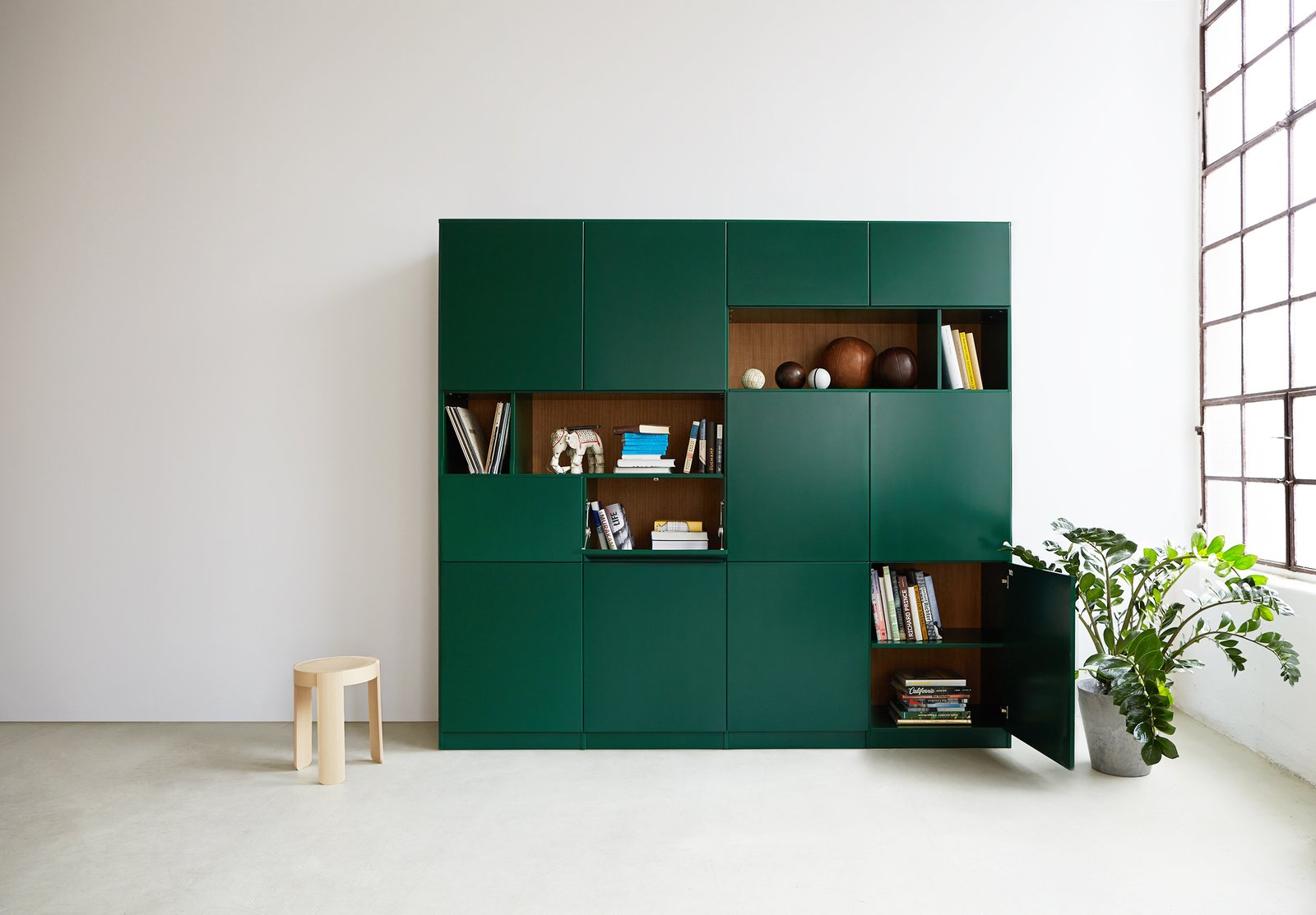 Hem customizable cabinet Shape-Shifters: Modular Furniture by Heather Corcoran