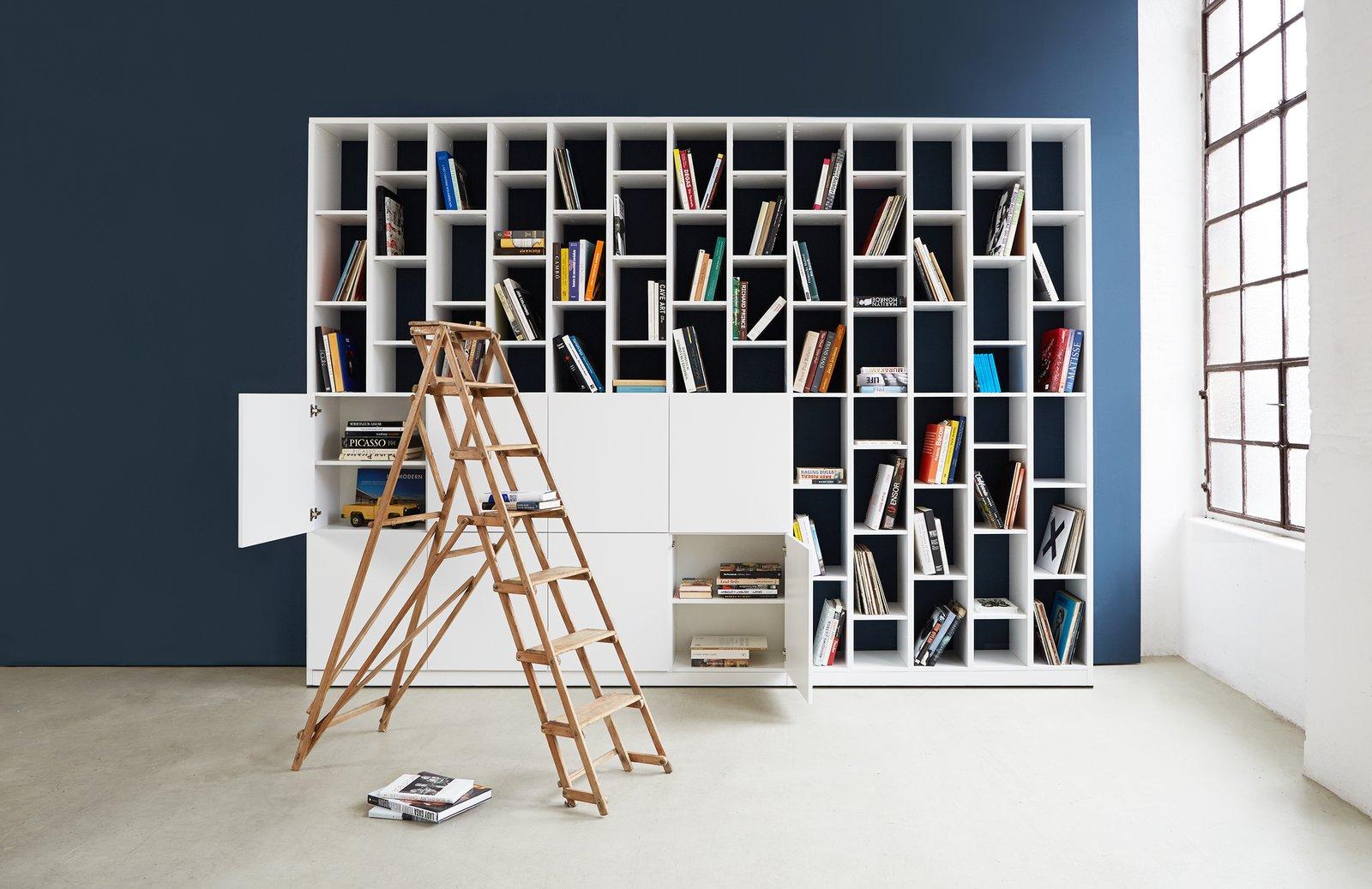 Hem customizable shelves Shape-Shifters: Modular Furniture by Heather Corcoran
