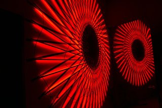 Audi Partners With Artist Matthew Schreiber for an Immersive New Experience - Photo 4 of 5 - The starting point for the exhibition was Audi's LED headlights.