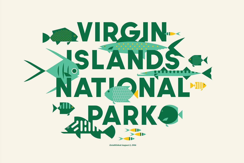 Virgin Islands National Park designed by Jay Fletcher