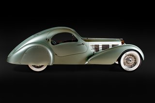 Examining the Architecture of the Art Deco Automobile - Photo 3 of 14 - 1935 Bugatti Aérolithe, Collection of Chris Ohrstrom