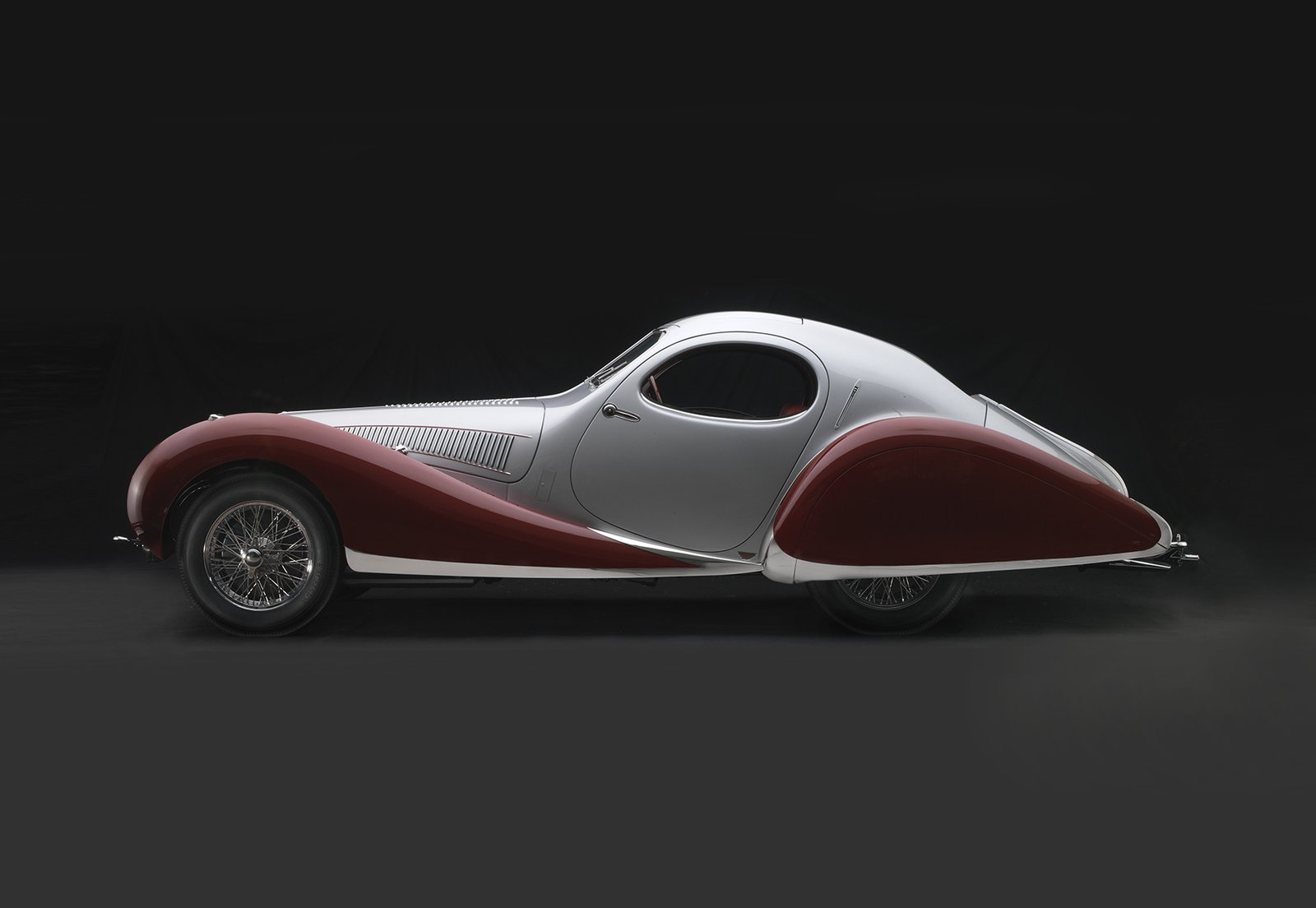 1938 Talbot-Lago T-150C-SS Teardrop, Collection of J. W. Marriott, Jr.;  Photo 8 of 15 in Examining the Architecture of the Art Deco Automobile