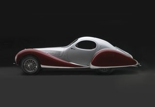 Examining the Architecture of the Art Deco Automobile - Photo 7 of 14 - 1938 Talbot-Lago T-150C-SS Teardrop, Collection of J. W. Marriott, Jr.;