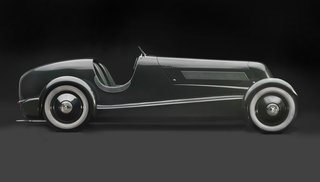Examining the Architecture of the Art Deco Automobile - Photo 13 of 14 - 1934 Edsel Ford's Model 40 Speedster, Courtesy of the Edsel and Eleanor Ford House