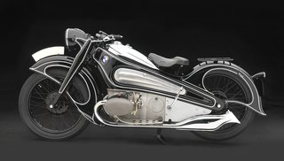 Examining the Architecture of the Art Deco Automobile - Photo 8 of 14 - 1934 BMW R7 Concept Motorcycle, BMW Classic Collection