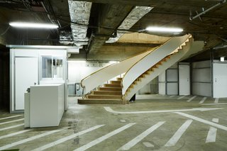 10 Surprising Garage Transformations - Photo 3 of 10 - An 800-car parking structure is transformed into a subterranean shopping experience in a Tokyo fashion icon's latest venture. In a city as dense as Tokyo, hot spots pop up in the most unexpected places—after all, it's not uncommon to find restaurants in office buildings or under train tracks.