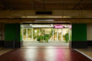A Surprise Hides in this Tokyo Parking Garage - Photo 1 of 6 - Inside an unassuming parking garage, architectNobuo Araki and Hiroshi Fujiwara have created a surprise-filled shopping experience.