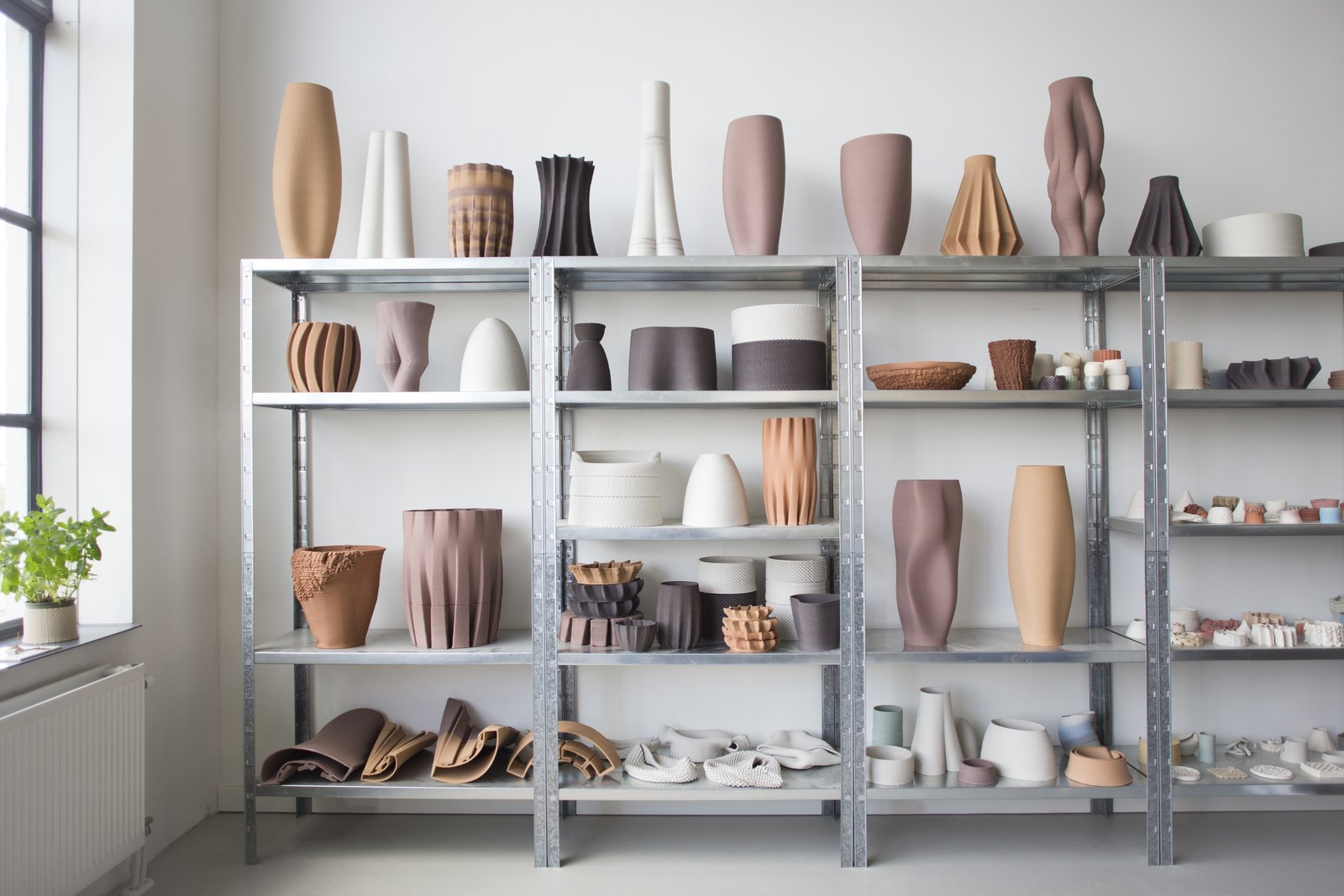 This year's New Material Award prize goes to Olivier van Herpt, who designed and built a 3D printer that can deposit layers of undiluted clay with fine detail.   newmaterialaward.nl  From the Editors' Inbox: October 2016 by Heather Corcoran