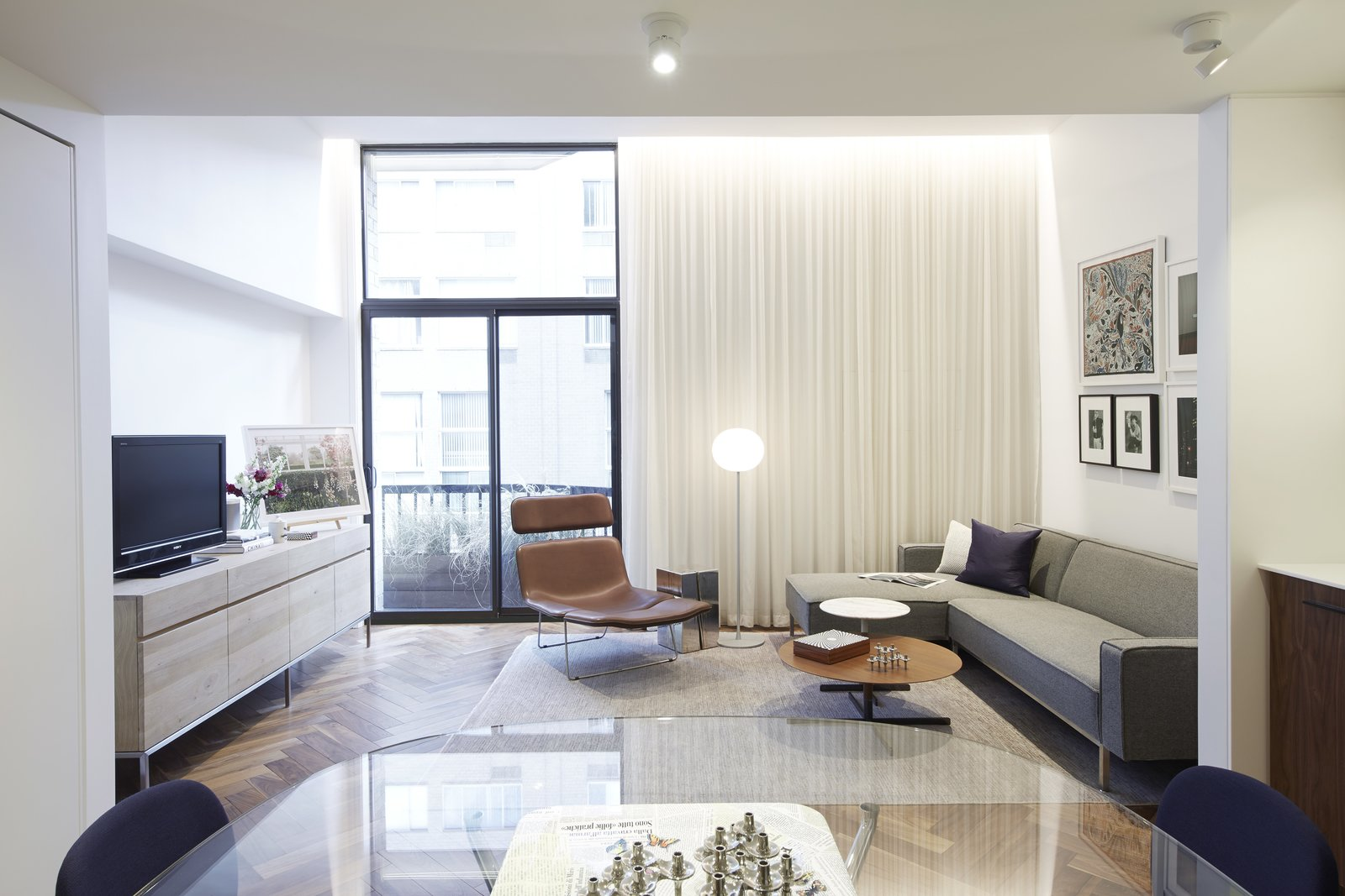 Photo 1 of 11 in In Just 450 Square Feet, A New York Architect Crafts a Multifunctional Apartment of His Own