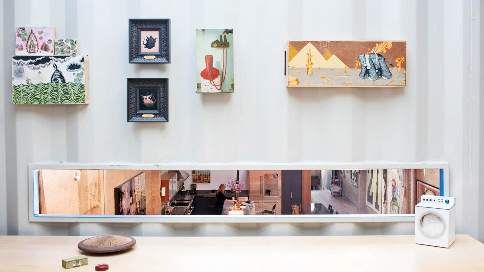 #lundberg #lundbergdesign #sanfrancisco #windows #glass #concrete #warehouse #interior #stairs  #kitchen   Wardell Sagan Residence by Lundberg Design