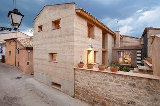 An Ancient Building Technique Readies a Spanish Farmhouse for the Future - Photo 4 of 4 - The house is one of 40 finalists for the TERRA Award, an international prize for earthen homes, which will be announced on July 14 in Lyon, France.