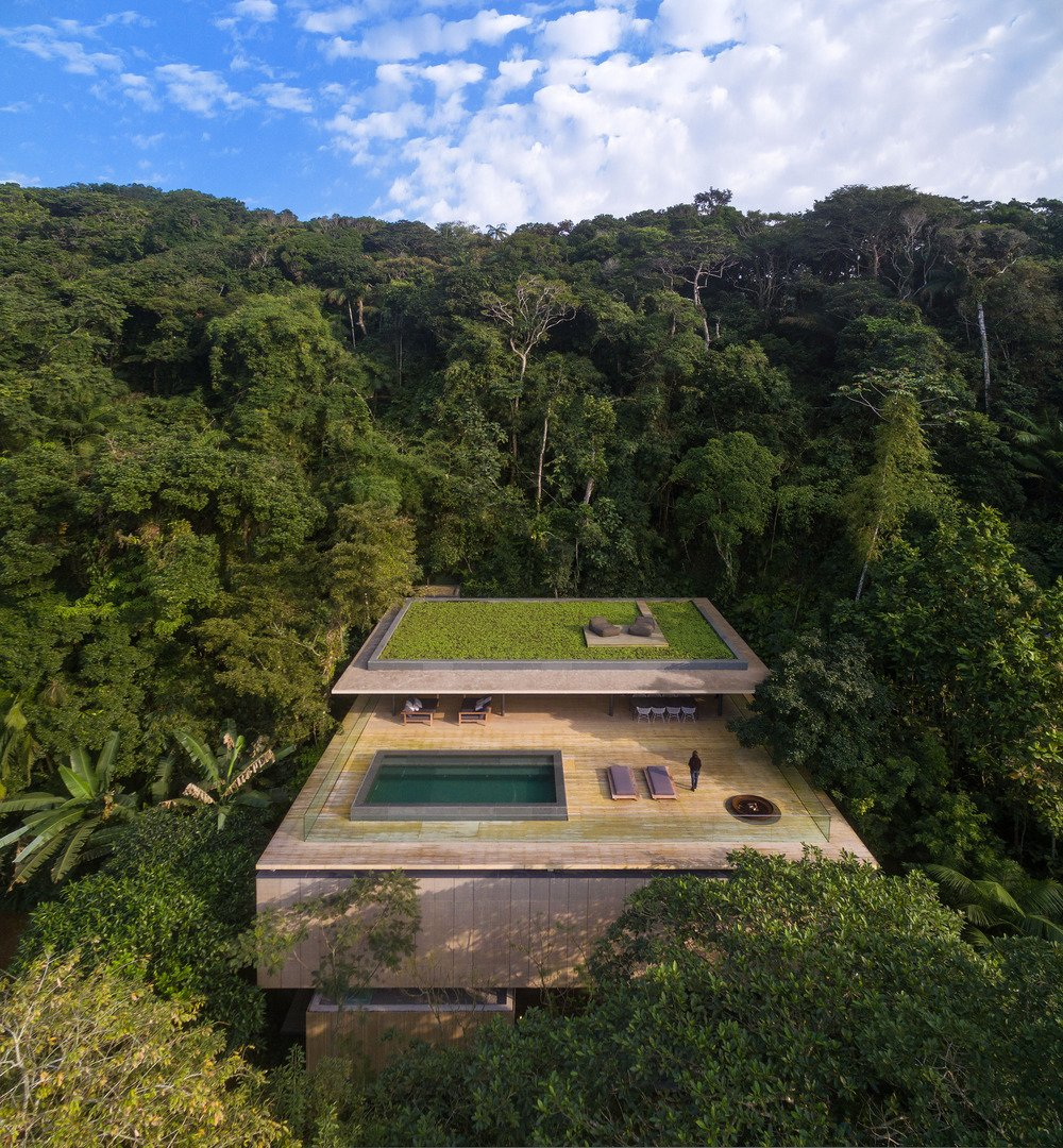 This São Paulo jungle oasis by Studio MK27 was chosen for the completed residential category.  outdoors by Laura McLaughlin from Could One of These  Game-Changing Projects Define 2016?
