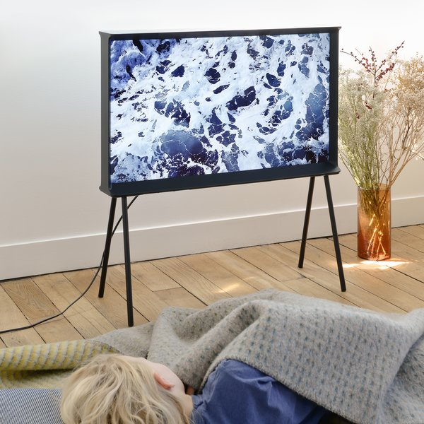 Furniture by Barry Van de Hoef from The Bouroullec Brothers Turn Back the Dial to When TVs Were Furniture