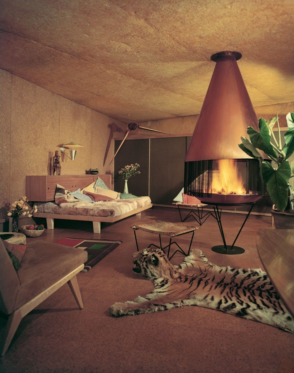 Residence by William Alexander, Los Angeles California (1952)  Bask in the Retro Glow of Photos from Postwar SoCal (and Beyond) by Luke Hopping