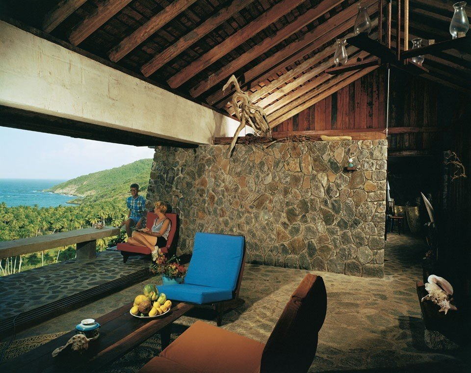 Spring Hotel, Bequia by Crites & McConnell, St. Vincent and the Grenadines (1967) Furniture by Barry Van de Hoef
