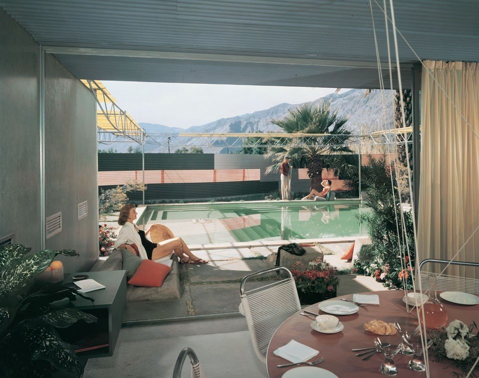 Frey Residence I by Albert Frey, Palm Springs, California (1956)  Bask in the Retro Glow of Photos from Postwar SoCal (and Beyond) by Luke Hopping