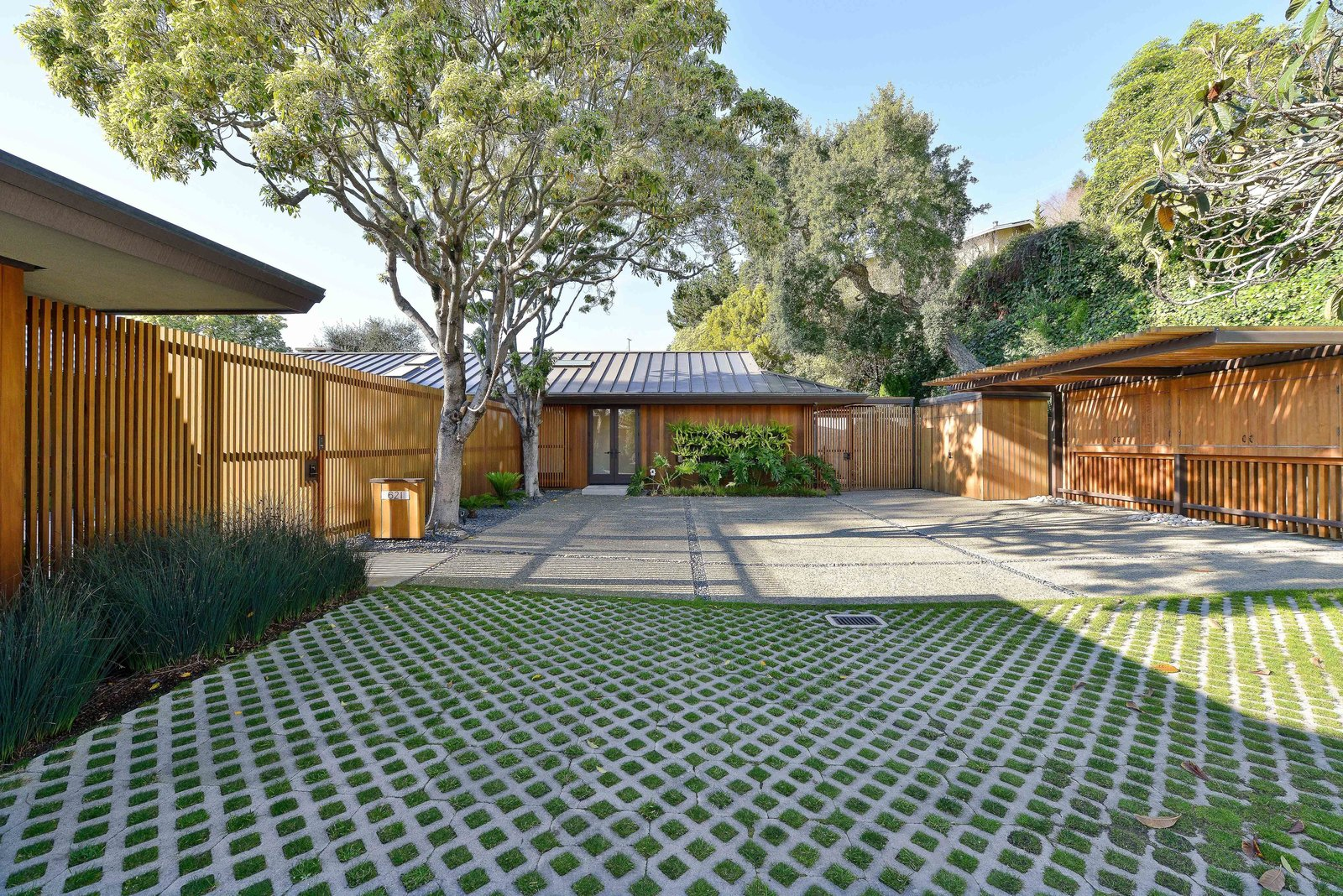 Photo 1 of 6 in A Quintessential Midcentury Home Goes LEED Platinum