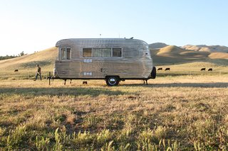 This Tiny Trailer Makes the World its Living Room - Photo 1 of 3 -