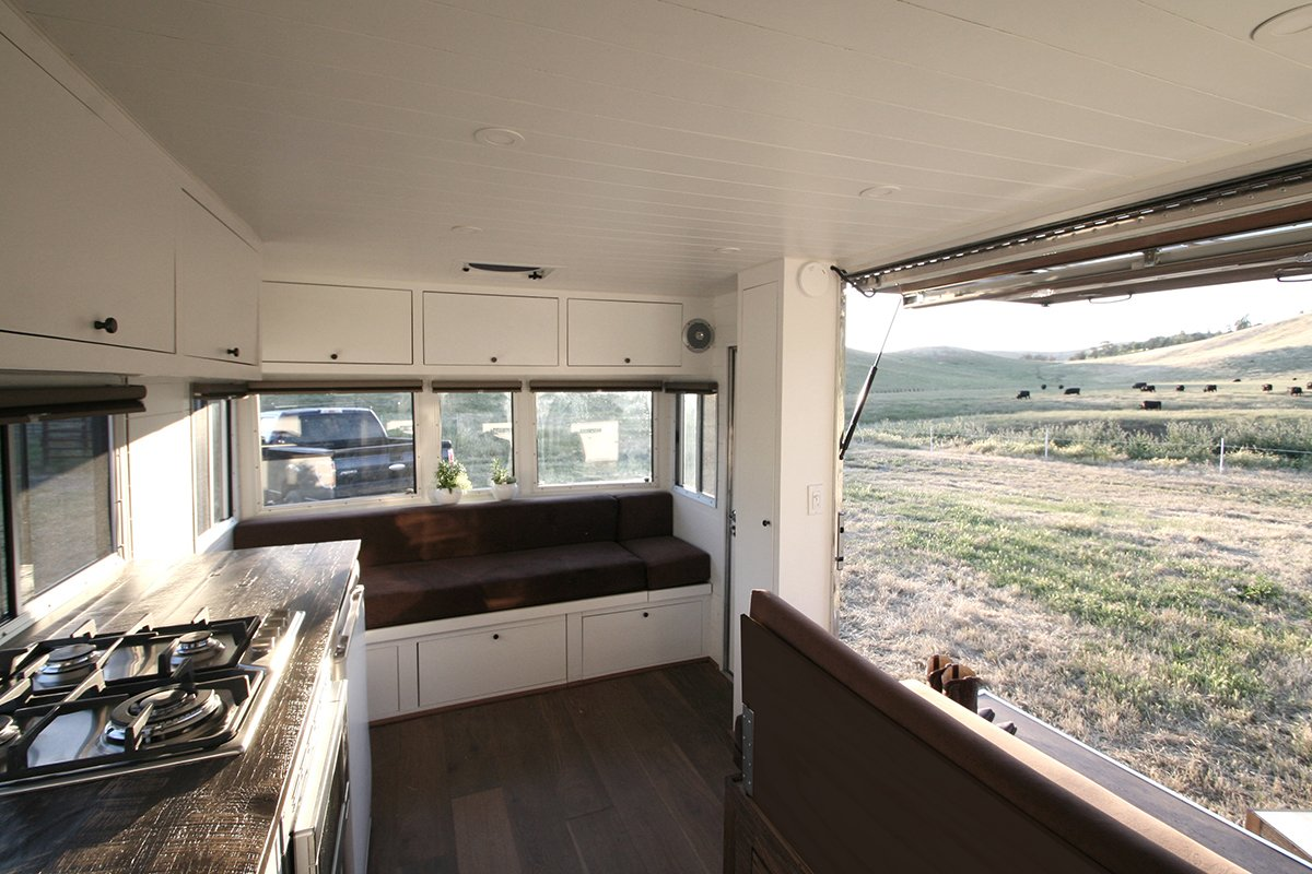 Photo 4 of 4 in This Tiny Trailer Makes the World its Living Room