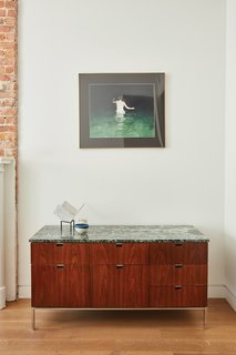 Forever Changes - Photo 7 of 16 - The console is vintage Florence Knoll.