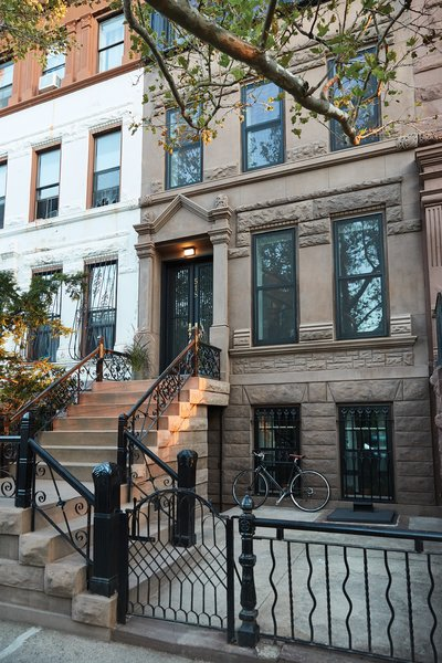 The couple installed a rainwater reclamation device from Conservation Technology on the roof. Photo 15 of Bedford-Stuyvesant Brownstone modern home