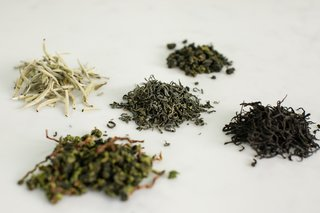 A New Prototype Design Asks:  Is Tea The New Coffee? - Photo 2 of 6 - Selected teas from Spirit include black, green, white, and oolong varieties.