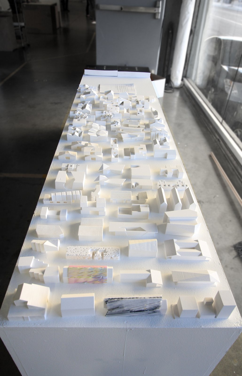 A collection of study models during the final review.  Photo 2 of 9 in When Building a House Is the Ultimate Final Exam