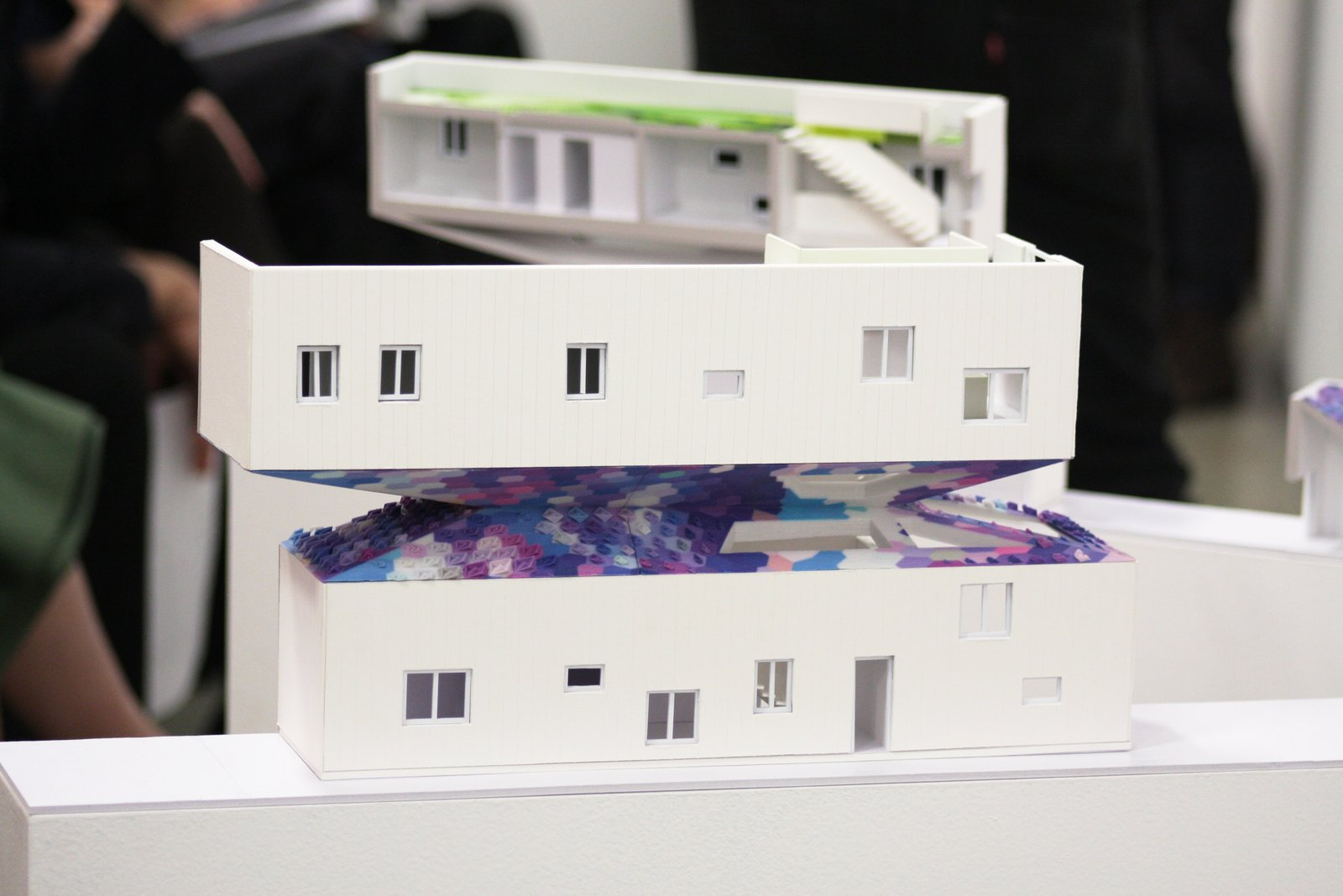 Early designs of the house presented at the final review. When Building a House Is the Ultimate Final Exam - Photo 4 of 9