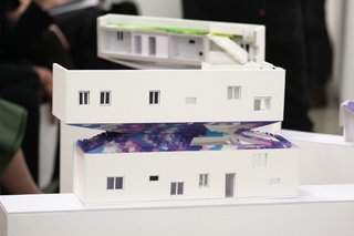 When Building a House Is the Ultimate Final Exam - Photo 3 of 8 - Early designs of the house presented at the final review for the SCI-Arc and Habitat LA final project.