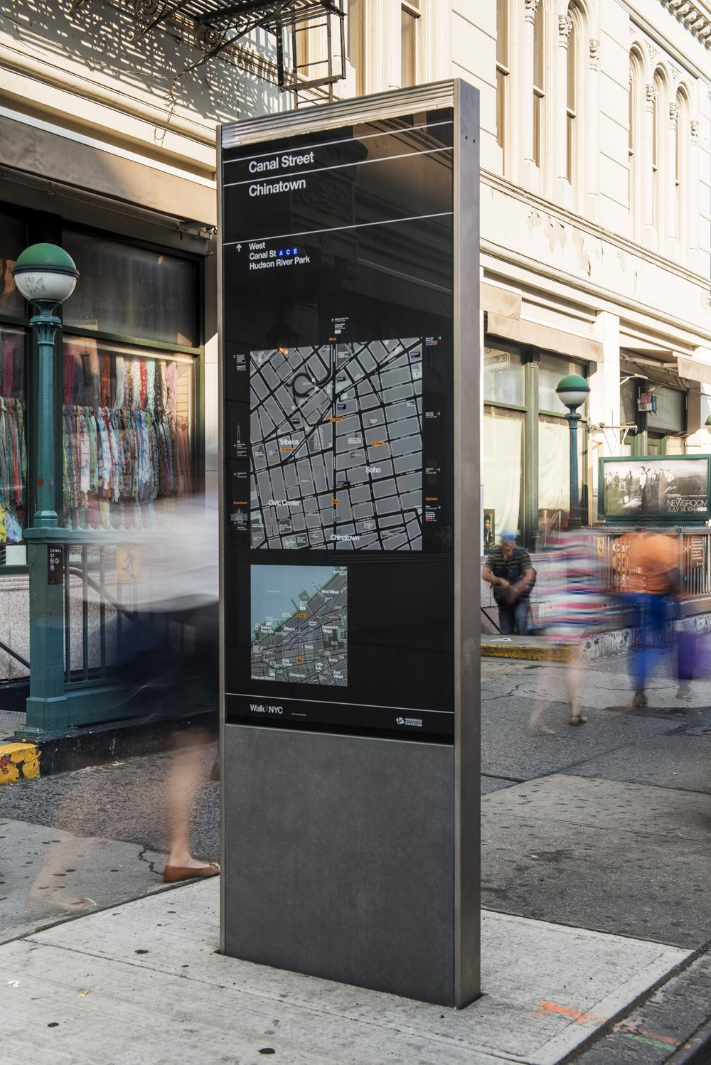Pentagram's Manhattan Way-Finding System  Way-Finding Systems by Rob Hewitt