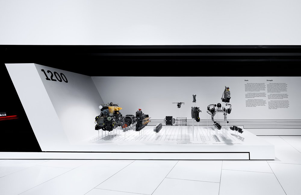 The Porsche Museum in Zuffenhausen, Germany  Way-Finding Systems by Rob Hewitt