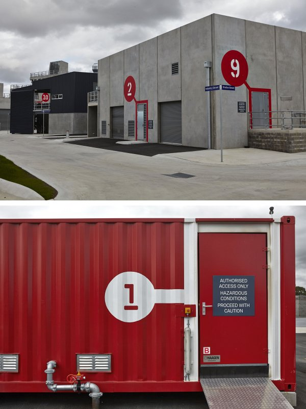 Metropolitan Fire Brigade in conjunction with Melbourne Parks Victoria, developed a new purpose built, contemporary 'Center of Excellence' for training and development of its operational workforce