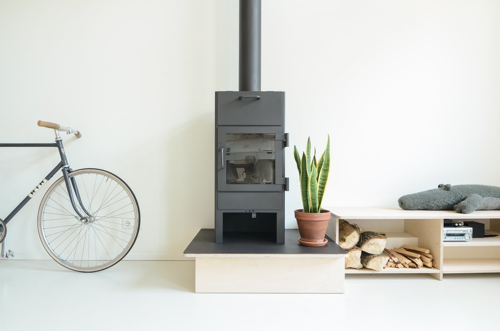 Photo courtesy of Standard Studio  97+ Modern Fireplace Ideas by Dwell from Scandinavian Inspired Design
