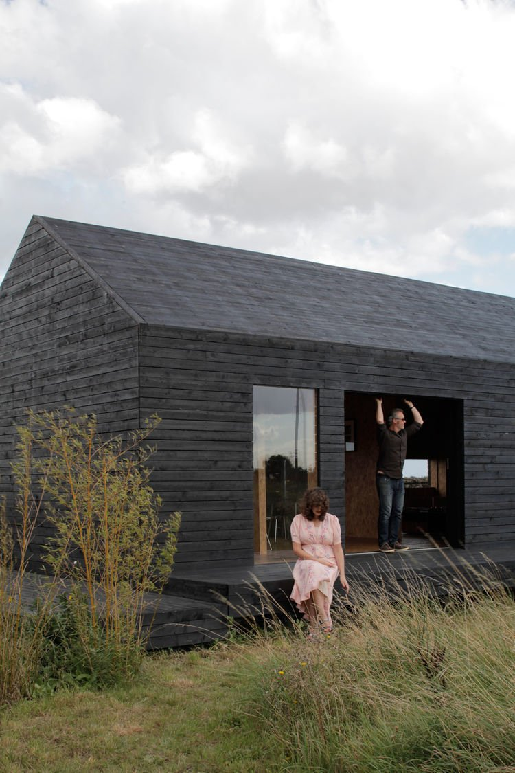 Photo by Christoffer Rudquist  Charred Wood Exteriors by piperstremmel