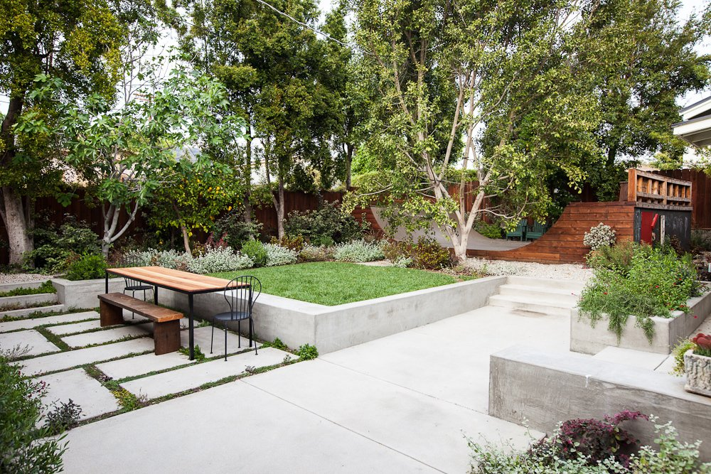 #EagleRockHouse #renovated #updated #private #residence #color #exterior #outside #landscape #2013 #EagleRock #California #BarbaraBestor  Modern Skate by Stephen Blake from Eagle Rock House
